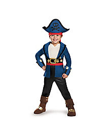 Toddler Captain Jake Costume - Jake and the Never Land Pirates