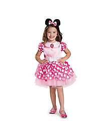 Pink Minnie Mouse Classic Tutu Toddler Costume