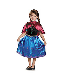Toddler Traveling Anna Costume - Frozen