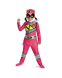 Toddler Pink Ranger Costume - Power Rangers Dino Charge