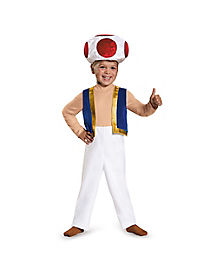 Toddler Toad Costume - Mario Bros