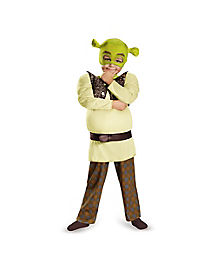 Toddler Muscle Shrek Costume - Shrek