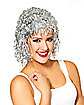 White Tinsel Wig