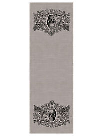 Gothic Skull Table Runner