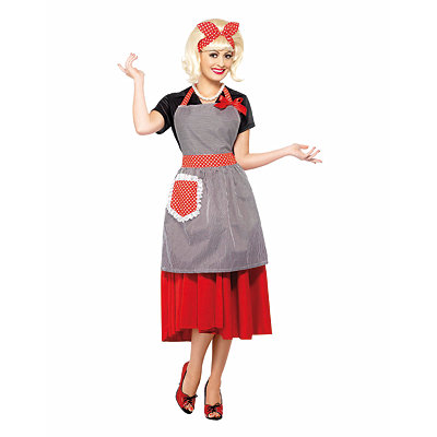 Vintage Inspired Halloween Costumes Honey Housewife Costume Kit $19.99 AT vintagedancer.com