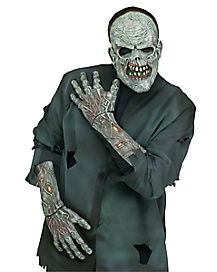 Zombie Hand and Wrist Glove Set