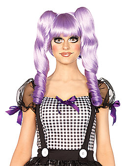 Dolly Lavender Bob Wig