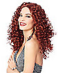 Red 70s Glam Wig