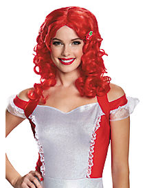 Red Strawberry Shortcake Wig - Strawberry Shortcake