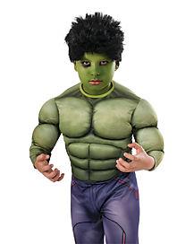 Kids Hulk Wig -Avengers: Age of Ultron