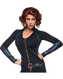 Avengers 2 Black Widow Wig