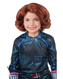 Kids Black Widow Wig - Avengers: Age of Ultron