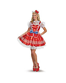 Adult Authentic Hello Kitty Costume - Hello Kitty