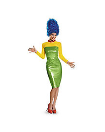 Adult Marge Simpson Costume Deluxe - The Simpsons