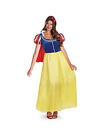 Adult Snow White Costume Deluxe - Snow White and the Seven Dwarfs