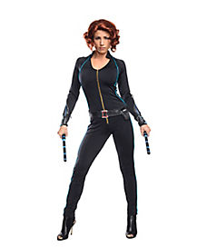 Adult Black Widow Costume - Avengers 2