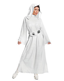 Adult Hooded Princess Leia Costume - Star Wars