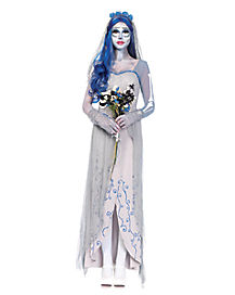 Adult Corpse Bride Dress Costume Deluxe - Tim Burton's Corpse Bride