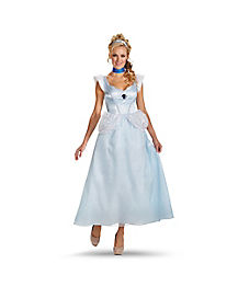 Adult Cinderella Costume Deluxe - Cinderella Movie