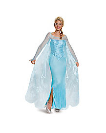 Adult Elsa Costume Theatrical - Frozen