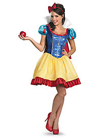Sassy Snow White Adult Womens Costume