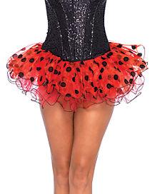 Chiffon Ladybug Tutu