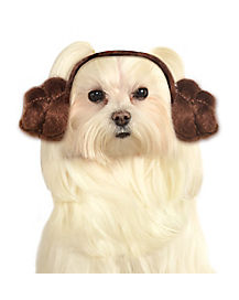 Leia Buns Dog Headband - Star Wars