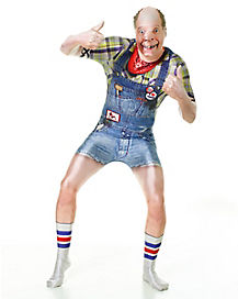 Adult Hillbilly Skin Suit Costume