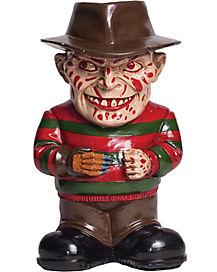 Freddy Krueger Lawn Gnome Decorations - Nightmare on Elm Street