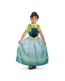 Frozen Fever Anna Girls Costume