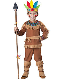 Toddler Little Warrior Native American Costume