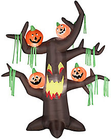 7 Ft Scary Tree Inflatable - Decorations