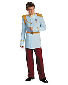Adult Prince Charming Costume Deluxe - Cinderella