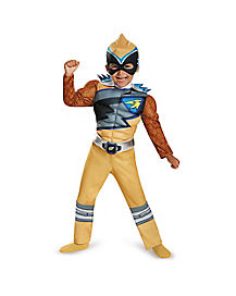 Power Rangers Dino Charge Gold Ranger Costume