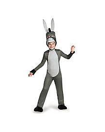 Kids Donkey One Piece Costume Deluxe - Shrek