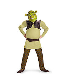 Kids Muscle Shrek Costume - Shrek