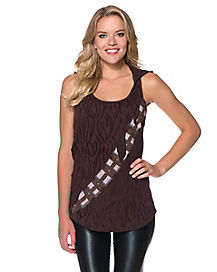 Hooded Chewbacca Tank Top