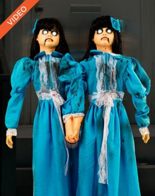 4' Animated Evil Twins
