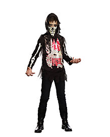 Kids No Guts No Glory Skeleton Costume