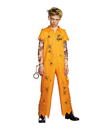 Kids Escaped Convict Costume