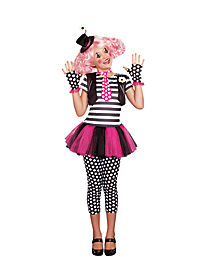 Kids Clownin Around Clown Dress Costume