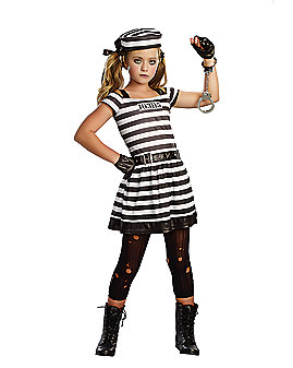 Kids Cuffed Convict Costume