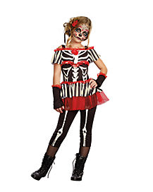Kids Senorita Bonita Day of the Dead Costume