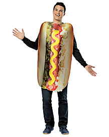Adult Loaded Hot Dog Costume