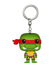 Teenage Mutant Ninja Turtles Raphael Pop Keychain
