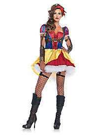 Rebel Snow White Adult Womens Costume