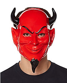 Red Devil Half Mask - Scream Queen