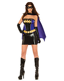 Adult Batgirl Costume Deluxe - DC Comics
