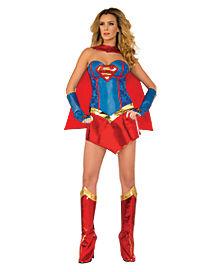Adult Supergirl Costume Theatrical - DC Comics