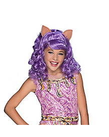 Kids Clawdeen Wolf Girls Wig - Monster High Haunted